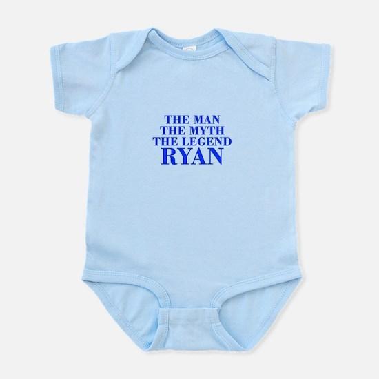 The Man Myth Legend RYAN-bod blue Body Suit
