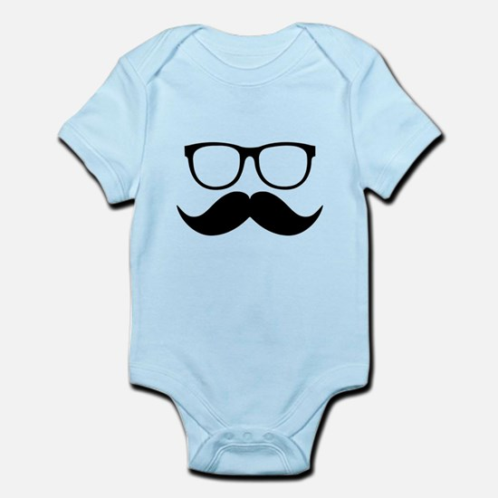 Mr. Stache Body Suit