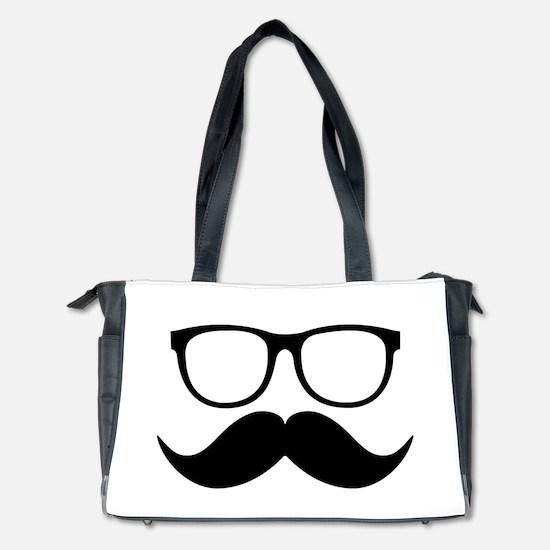 Mr. Stache Diaper Bag