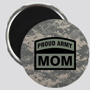 Proud Army Mom Camo Magnet