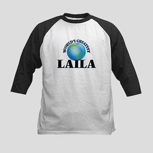 World's Greatest Laila Baseball Jersey