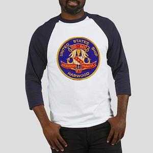 USS HARWOOD Baseball Jersey