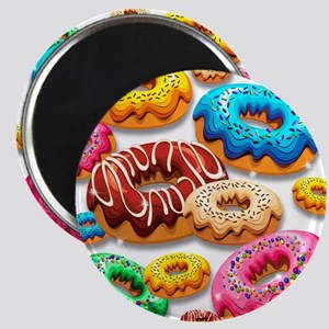 Donuts Party Time Magnets