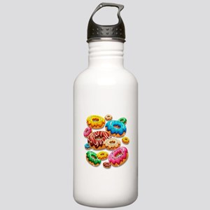 Donuts Party Time Water Bottle
