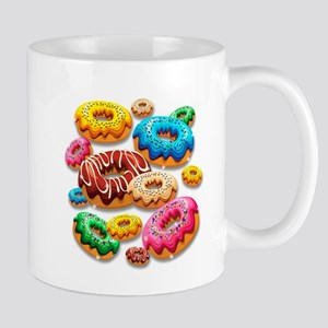 Donuts Party Time Mugs