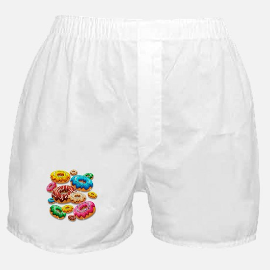 Donuts Party Time Boxer Shorts