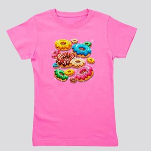 Donuts Party Time Girl's Tee