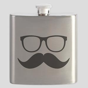 Mr. Stache Flask