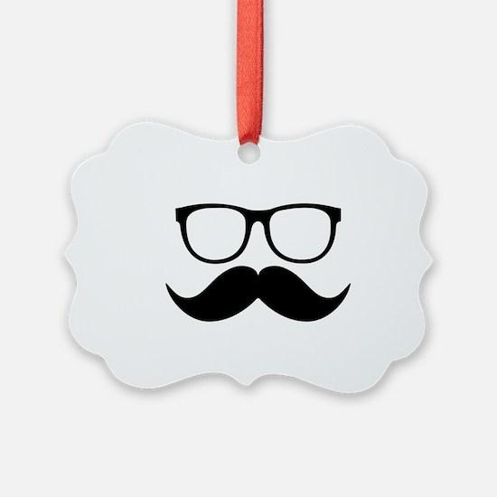 Mr. Stache Ornament