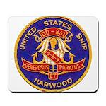 USS HARWOOD Mousepad