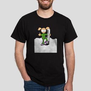 snow girl Dark T-Shirt