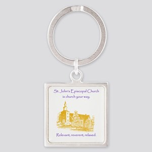 St. Johns is church your way. Keychains