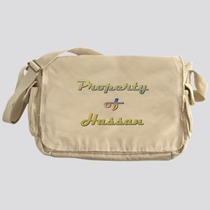 Property Of Hassan Male Messenger Bag