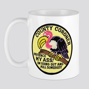 County Coroner Mug