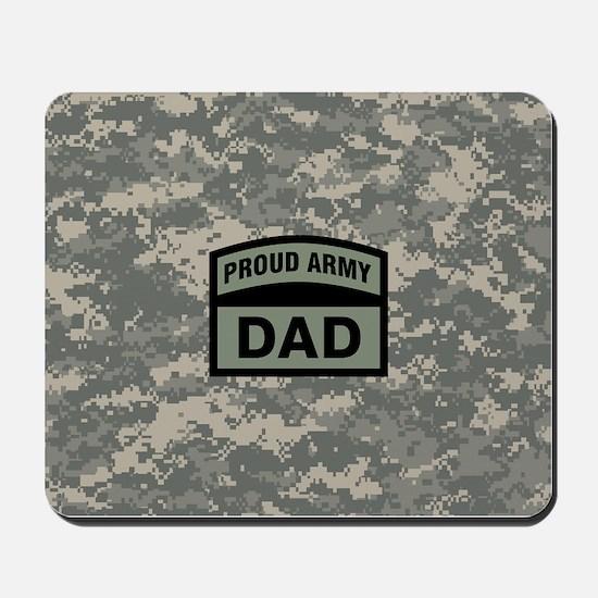 Proud Army Dad Camo Mousepad