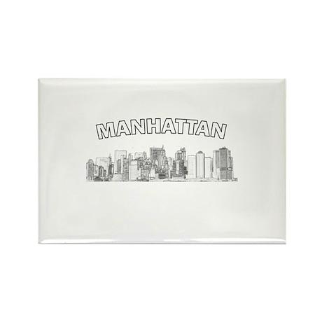 Manhattan Rectangle Magnet (100 pack)