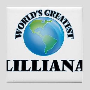 World's Greatest Lilliana Tile Coaster