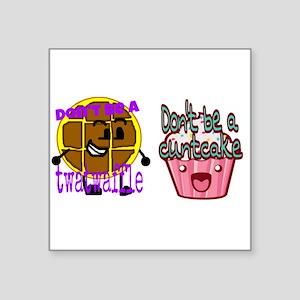 Cuntcake And Twatwaffle Humor Sticker