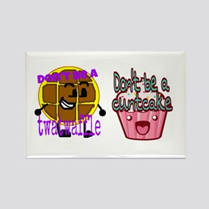 Cuntcake And Twatwaffle Humor Magnets