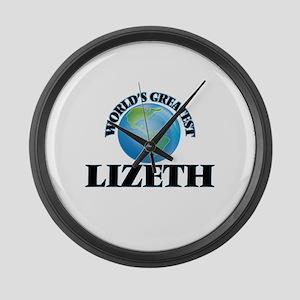 World's Greatest Lizeth Large Wall Clock