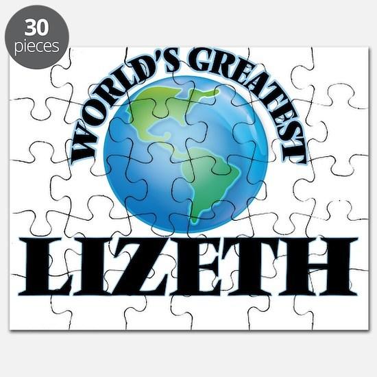 World's Greatest Lizeth Puzzle