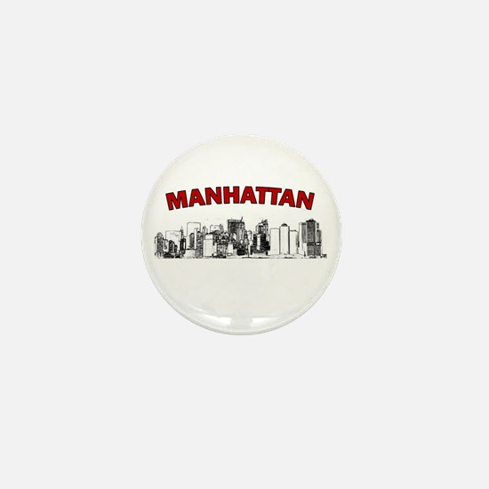 Manhattan Mini Button