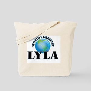 World's Greatest Lyla Tote Bag