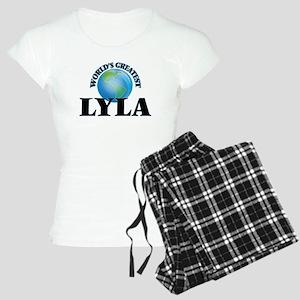 World's Greatest Lyla Women's Light Pajamas