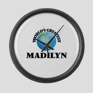 World's Greatest Madilyn Large Wall Clock