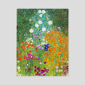 Gustav Klimt Flower Garden Twin Duvet