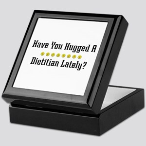 Hugged Dietitian Keepsake Box