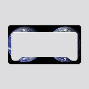 Earth License Plate Holder