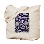 Abstract Whimsical Flowers Tote Bag