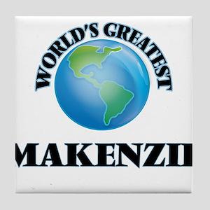 World's Greatest Makenzie Tile Coaster