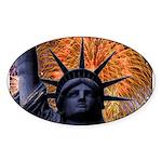 Honor America Oval Sticker