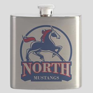 North Phoenix High School Mustangs Flask