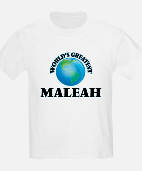 World's Greatest Maleah T-Shirt