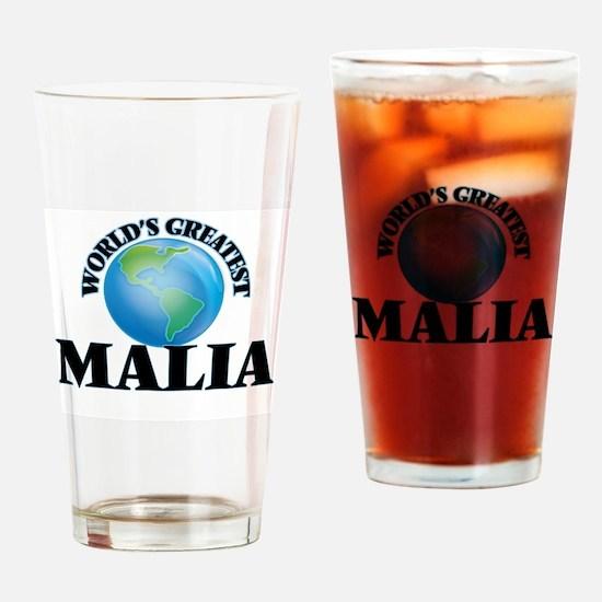 World's Greatest Malia Drinking Glass