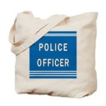 Police Officer Blues Tote Bag