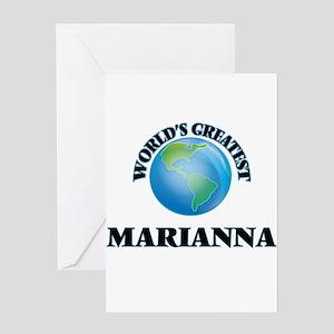 World's Greatest Marianna Greeting Cards