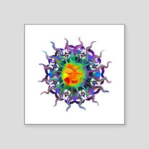 ChakraSunTile Sticker