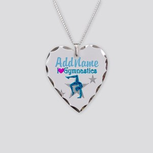 FIERCE GYMNAST Necklace Heart Charm