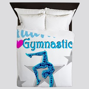 FIERCE GYMNAST Queen Duvet
