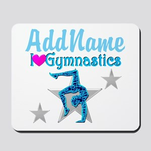 FIERCE GYMNAST Mousepad