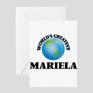 World's Greatest Mariela Greeting Cards
