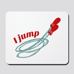 I Jump Mousepad