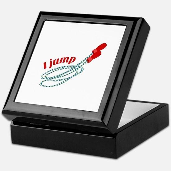 I Jump Keepsake Box