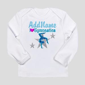 VIBRANT GYMNAST Long Sleeve Infant T-Shirt