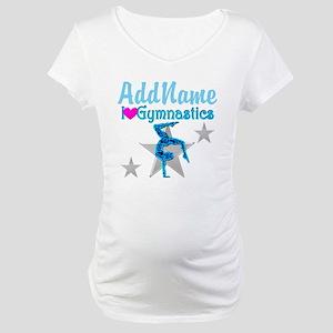 VIBRANT GYMNAST Maternity T-Shirt