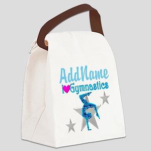 VIBRANT GYMNAST Canvas Lunch Bag